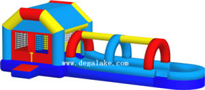 Custom Made Inflatable Bouncy Castle Fun City for Kids