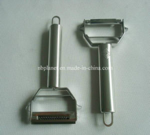 Stainless Steel Microblade Peeler/Julienne Cutter/Slicer pictures & photos