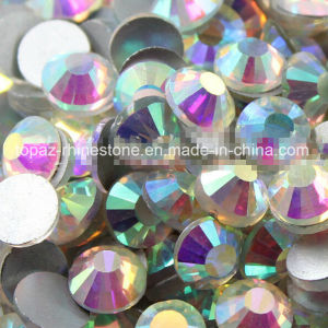 Non Hot Fix Flat Back Crystal Stone Ss12 Flat Back Rhinestone (FB-ss12 crystal ab) pictures & photos