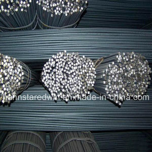Supply ASTM A615 Grade 300/JIS Sr235 Deformed Reinforcing Steel Rebar for Reinforced Concrete Structure pictures & photos