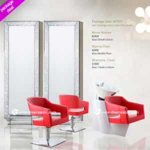 Salon Furniture, Salon Equipment, Mirror Station, Styling Chair, Hairdressing Chair, Shampoo Chair, Barber Chair, Salon Chair (Package Deal NP207) pictures & photos