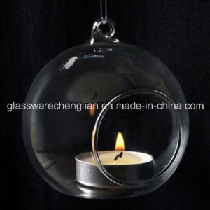 Clear Glass Hanging Candle Holder (ZT-069) pictures & photos