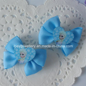 Disney Hair Accessories-Fabric Frozen Elsa Hair Pin Set H062 pictures & photos