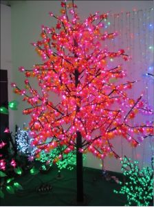 Yaye Hot Sell Outdoor LED Maple Tree Light / Pink LED Maple Tree /Lighted Maple LED Light pictures & photos