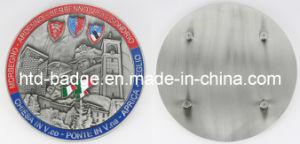 3D Custom Made Metal Car Badge in Antique Finish (BD034)