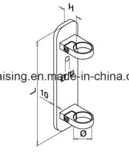 Stainless Steel Railing Bracket for Wall Baluster pictures & photos
