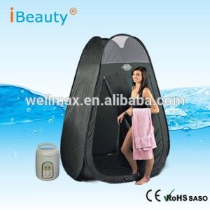 Tw-PS06 Portable Folding Full Body SPA Home Steam Sauna for Detox