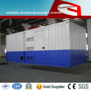 1250kVA/1000kw Cummins Silent Electric Power Generator with Soundproof Container