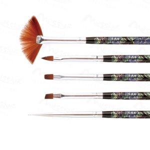 Set 5PCS Nail Art Various Painting Drawing Polish Curing Brush Pen Tools pictures & photos