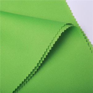 100% Polyester Backpack Fabric with PU Coating for Bags pictures & photos