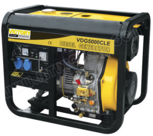 3kw Portable Diesel Generator for Home Use with Ce/CIQ/Soncap/ISO pictures & photos