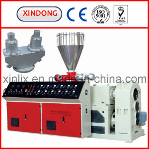 High Output Dual PVC Pipe Extruder pictures & photos