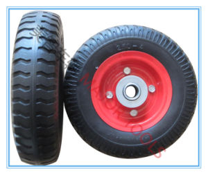 Three Types of 220mm PU Foam Wheel 2.50-4 for Wagon Carts pictures & photos