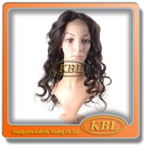 5A Grade Brazilian Half Lace Wig pictures & photos