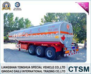 Carbon Steel Gasoline (Fuel) Tanker Trailer (Semi trailer) pictures & photos