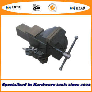 4′′ 100mm Heavy Duty French Type Bench Vise Rotary with Anvil pictures & photos