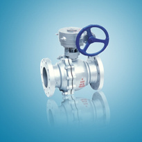 Flanged Ends Handwheel 2PC Cast Steel Floating Ball Valve