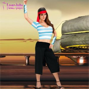 Fancy Carnival Adult Pirate Costume (L1007) pictures & photos