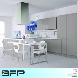 Fashion Free Standing Interior Kitchen Cabinet Design Price Blk-51 pictures & photos