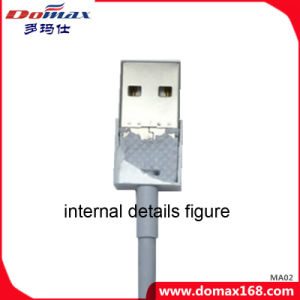 White TPE USB Charging Cable for Mobile Phone iPhone Charging pictures & photos