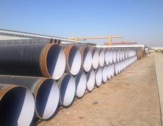 Tpep Anticorrosive Spiral Steel Pipe pictures & photos