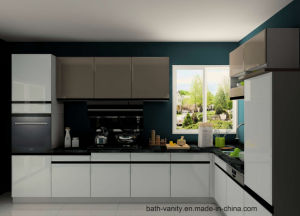 Anti-Broken High Gloss Lacquer Kitchen Carbinet pictures & photos