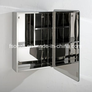 Modern Style Popular Stainless Steel Furniture Bathroom Mirror Cabinet (7020) pictures & photos