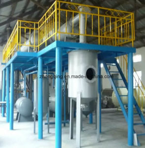 Environmentally Friendly Waste Tyre Pyrolysis Plant /Plastic to Oil /Convert Waste Tyre to Fuel Oi pictures & photos