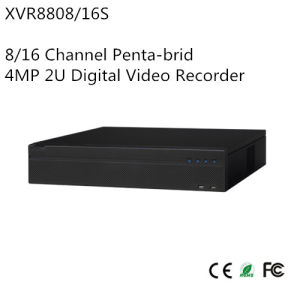 8/16 Channel Penta-Brid 4MP 2u Digital Video Recorder (XVR8808/16S)