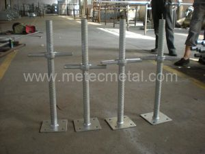Hollow Screw Jack Base for Cuplock Scaffold pictures & photos