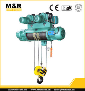 25 Ton Electric Wire Rope Hoist with Single Speed pictures & photos