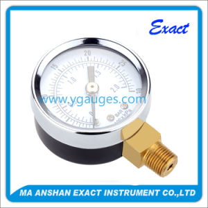 Good Quality Industrial Standard Black Steel Case Dry Pressure Gauge pictures & photos