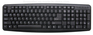 Multi Language Standard Wired Keyboard pictures & photos