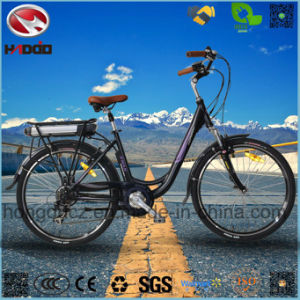 Alloy Frame 250W Good Quality Electric City Road Bicycle for Adult pictures & photos