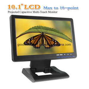 "Capacitive Multi Touch 10.1""TFT Monitor, Support Win 7/Win 8 OS pictures & photos"