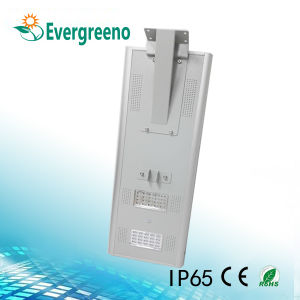 Integrated Solar LED Street Light with 156*156mm Solar Cell pictures & photos