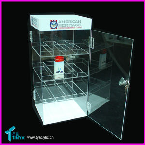 Custom Acrylic LED Wall Mounted Wine Rack pictures & photos