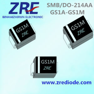 1A GS1a Thru GS1m General Purpose Rectifiers Diode SMB/Do-214AA Package pictures & photos