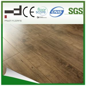 12mm Hand-Scraped Imitation V-Bevelled Laminated Floor pictures & photos