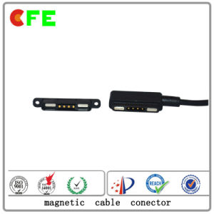 Magnetic 4pin Cable Connector for Portable Gas Detector pictures & photos