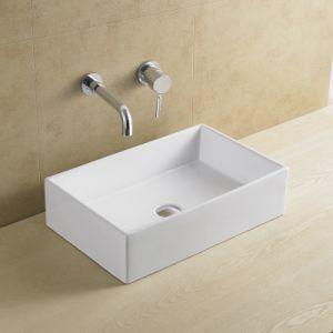 Rectangular Ceramic Art Basin (8025) pictures & photos