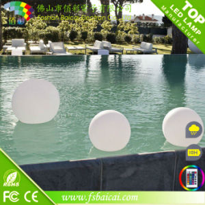 PE Material IP68 Waterproof Illuminated LED Ball
