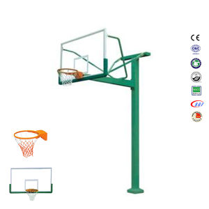 Custom Print Basketball Stand, in-Ground Basketball Stand with Elastic Hoop pictures & photos