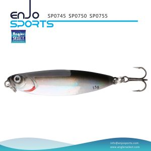 Sp0750 Series Holographic Spoon Shape Jigging Lure with Vmc Treble Hook pictures & photos