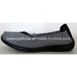 Comfortable Footwear Women′s Shoes Weave Shoes Slip-on Shoes Casual Shoes pictures & photos