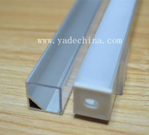 Corner Aluminium with Lens for LED Profile pictures & photos