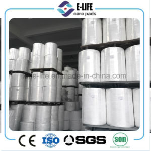 Factory Price PP Spunbond Non Woven Material for Daiper Sanitary Napkin pictures & photos