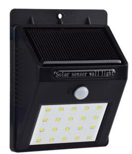 20 LEDs Solar Charge Battery Outdoor Motion Sensor Wall Light pictures & photos