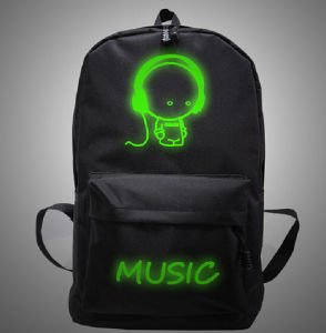Promotional Lovely Cartoon LED School Bag pictures & photos