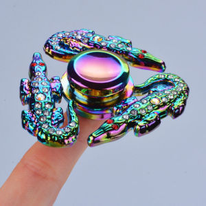 Finger Fidget Spinner Rainbow Colorful Metal Hand Spinner pictures & photos